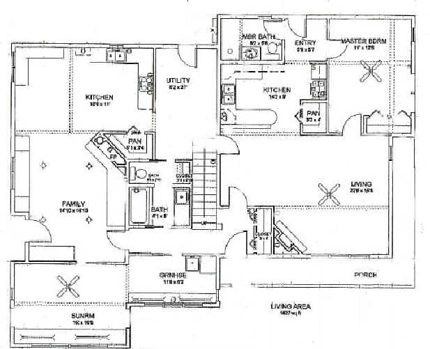 Downstairs House Plans